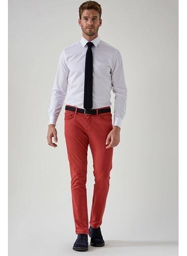Hemington Kırmızı Slim Fit 5 Cep Pantolon Kırmızı